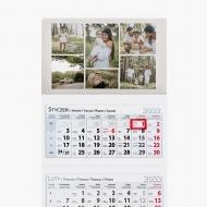Kalendarz trójdzielny, Najpiękniejsze momenty, 30x85