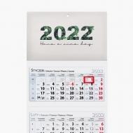 Kalendarz trójdzielny, Natura, 30x85
