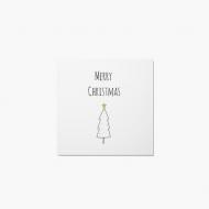 Fotokartki Złote Święta, 14x14 cm