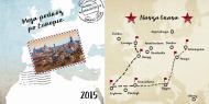 Fotoksiążka Nasza podróż przez Europę, 20x20 cm