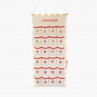 Kalendarz adwentowy, Twoje Imię, 46x110 cm