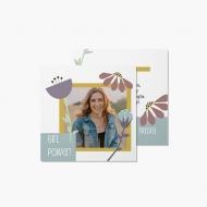 Fotokartki Girl Power, 14x14 cm