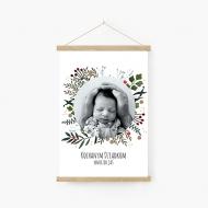 Obraz na sznurku, Merry Xmas - dla dziadków, 20x30 cm