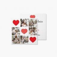 Fotokartki Walentynka, 14x14 cm