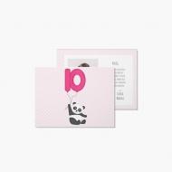 Fotokartki Panda, 20x15 cm