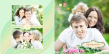Fotoksiążka Wspomnienia z Całego Roku, 30x30 cm