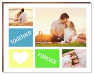 Fotopanel, Together forever, 18x13 cm