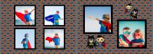 Fotoksiążka Mały Superbohater , 30x20 cm
