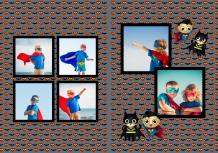 Fotoksiążka Mały Superbohater , 20x30 cm