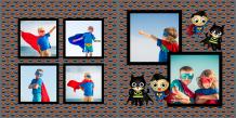 Fotoksiążka Mały Superbohater , 20x20 cm