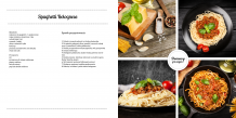 Fotoksiążka Szablon Kulinarny , 30x30 cm