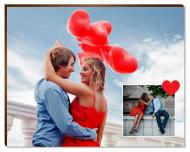 Fotopanel, Twój projekt miłosny, 18x13 cm