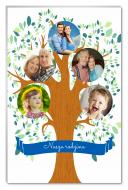 Fotopanel, Drzewo rodzinne, 13x18 cm