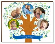 Fotopanel, Drzewo rodzinne, 18x13 cm
