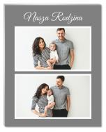 Fotopanel, Nasza Rodzina, 20x30 cm