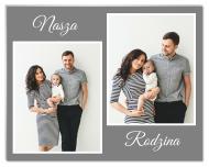 Fotopanel, Nasza Rodzina, 18x13 cm