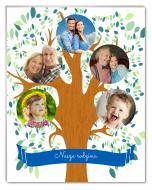 Fotopanel, Drzewo rodzinne, 10x15 cm