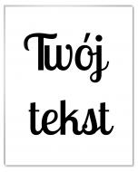 Fotopanel, Twój tekst, 10x15 cm