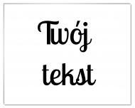 Fotopanel, Twój tekst, 18x13 cm