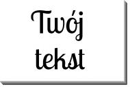 Obraz, Twój tekst, 80x60 cm