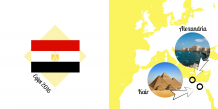 Fotoksiążka Egipt - Wakacyjna Przygoda, 30x30 cm