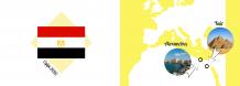 Fotoksiążka Egipt - Wakacyjna Przygoda, 30x20 cm
