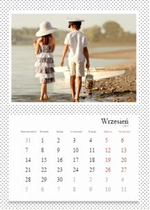 Kalendarz, Zbiór wspomnień, 30x40 cm