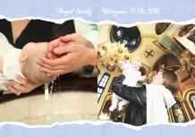 Fotoksiążka Chrzest Chłopca, 20x30 cm