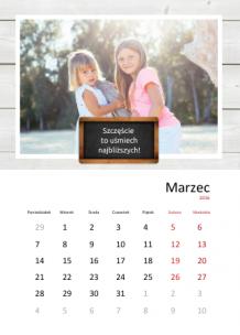 Kalendarz, Najświeższe wspomnienia, 30x40 cm