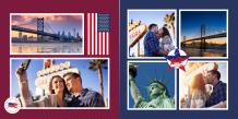 Fotoksiążka Wakacje w USA, 30x30 cm
