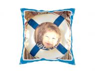 Poduszka, bawełna, Kolorowe chwile, 25x25 cm
