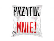Poduszka, bawełna, Przytul mnie!, 25x25 cm