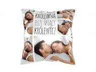 Poduszka, bawełna, Śpiąca królewna i śpiący królewicz, 40x40 cm