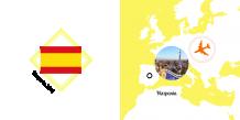 Fotoksiążka Hiszpania - Wakacyjna Przygoda, 15x15 cm
