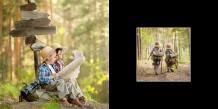 Fotokniha Tvoj kontrastný projekt, 15x15 cm