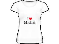 Koszulka damska, I love imię