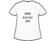 Koszulka dziecięca, Ładnemu we wszystkim ładnie