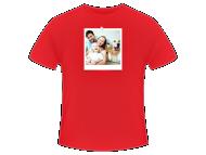 Koszulka męska, Odbitka na koszulce