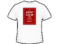 Koszulka męska, Keep calm
