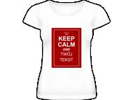 Koszulka damska, Keep calm