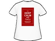 Koszulka dziecięca, Keep calm